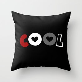 Cool (Placiosexual/romantic) Throw Pillow