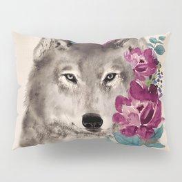 Gently Ferocious Pillow Sham