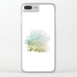 Where the sea sings to the trees - 9 Clear iPhone Case