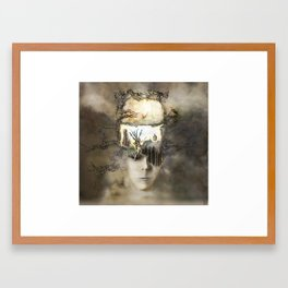 Second Thought Framed Art Print