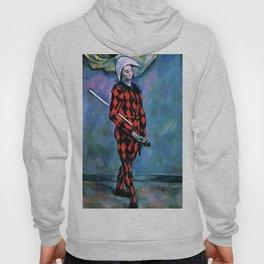 "Paul Cezanne ""Harlequin"", 1890-1891 Hoody"