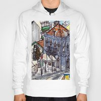 portugal Hoodies featuring Buarcos, Portugal by Claire Nelson-Esch