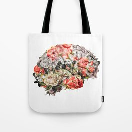 Flower Brain Tote Bag