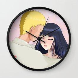 Naruto and Hinata - Fanart Wall Clock