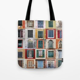 Twenty Five Windows Tote Bag