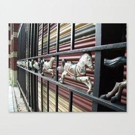 merry pony Canvas Print