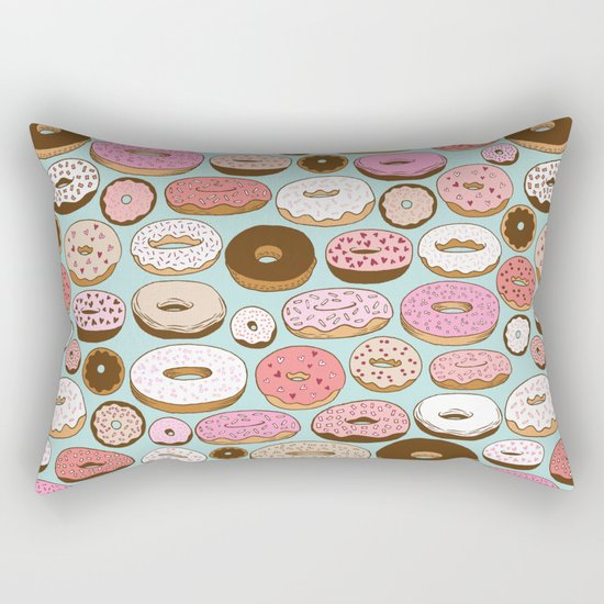 Donut Wonderland Rectangular Pillow