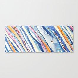 Spine Lines Canvas Print