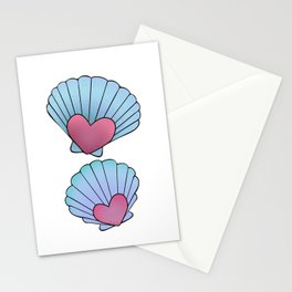 Seashell 💗 Stationery Cards