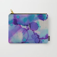 Purple and blue Carry-All Pouch