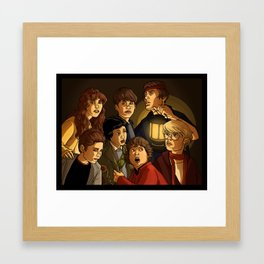 "They call themselves 'the Goonies"" Framed Art Print"