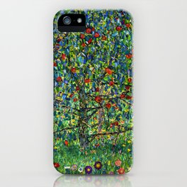 The Apple Tree Gustav Klimt iPhone Case