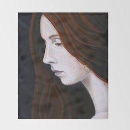 Nastya Throw Blanket