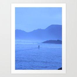 """Lone Surfer"" Art Print"