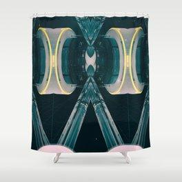 RESTART IGNITION Shower Curtain