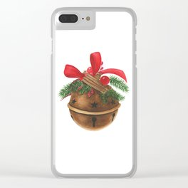 Ball with christmas decoration Clear iPhone Case
