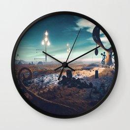 Strange Lantern Wall Clock