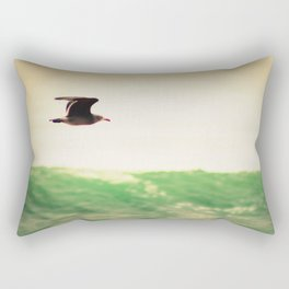 Freedom by the Sea Rectangular Pillow