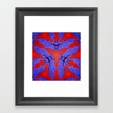 Vampire Blood Pattern Framed Art Print