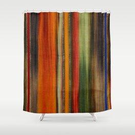 Boho Stripes Shower Curtain