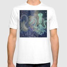 óbu exotica gallery mandala SMALL Mens Fitted Tee White