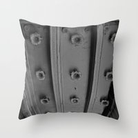 theatre Throw Pillows featuring LA THEATRE by KING