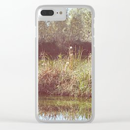 Springy spring Clear iPhone Case