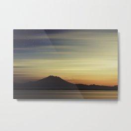 Volcano at Dawn Metal Print