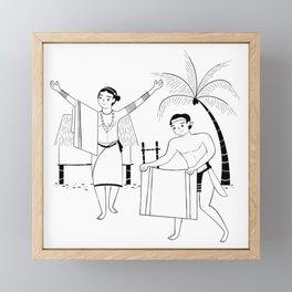 Tadek Framed Mini Art Print