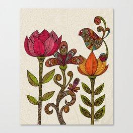 In the garden Canvas Print