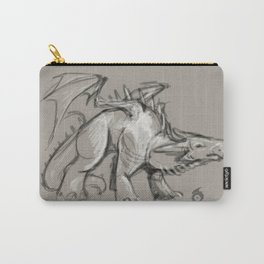 Dragon Sketch Carry-All Pouch