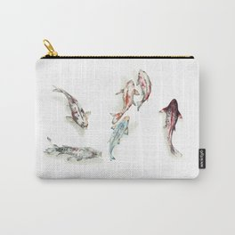 Koi Fish Watercolour Carry-All Pouch