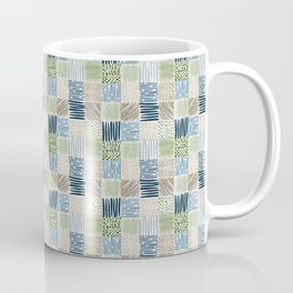 Jungle Set | hand illustrated quilt pattern Coffee Mug