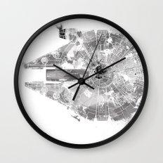 Star Wars Vehicle Millennium Falcon Wall Clock