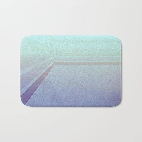 Horizontal flight (Blue edition) Bath Mat