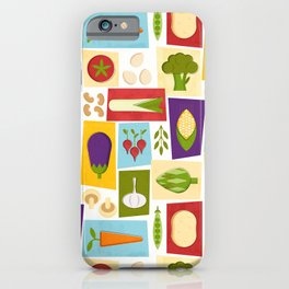 Farm to Table_pattern iPhone Case