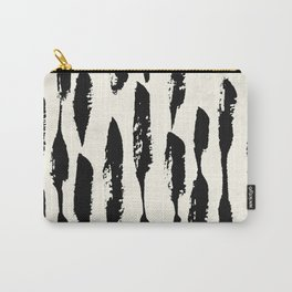 Tribal Paint Stripes Carry-All Pouch
