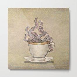 Tentacles in a Teacup Metal Print