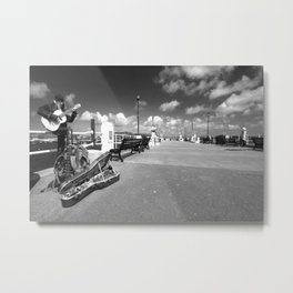 Cornish Buskin  Metal Print