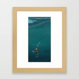 Not Done Yet Framed Art Print