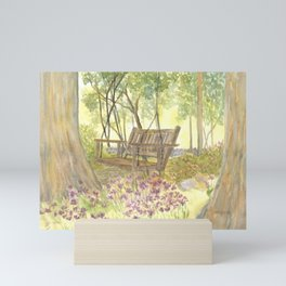 Bedrock Garden Spring on In and Out Pathway Mini Art Print
