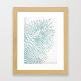 Tropical Fringe Framed Art Print