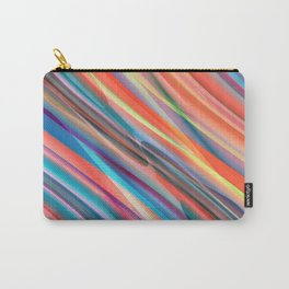 multicolored lines  Carry-All Pouch