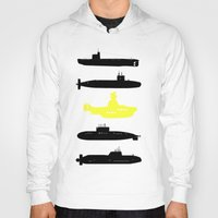 yellow submarine Hoodies featuring Yellow Submarine by el oso bipolar