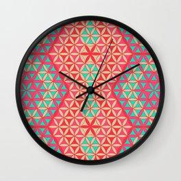 Flower of Life Pattern 31 Wall Clock