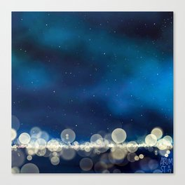 Because Some Things Are Worth Waiting For Canvas Print