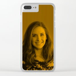 Alison Brie - Celebrity Clear iPhone Case