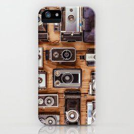 Photographer's History iPhone Case