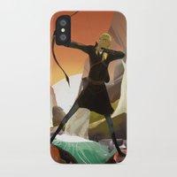 legolas iPhone & iPod Cases featuring Legolas by maracass