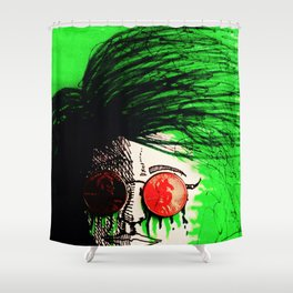 Penny Blinds Shower Curtain